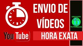 Como enviar vídeo para Youtube com hora programada