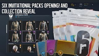 Opening Six Invitational Packs and all collection reveal! - Rainbow Six: Siege