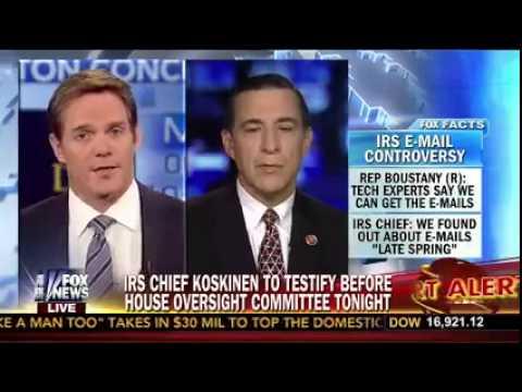 Darrell Issa on Fox ahead of IRS hearing