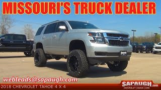 2018 Lifted Chevy Tahoe For Sale St Louis Missouri