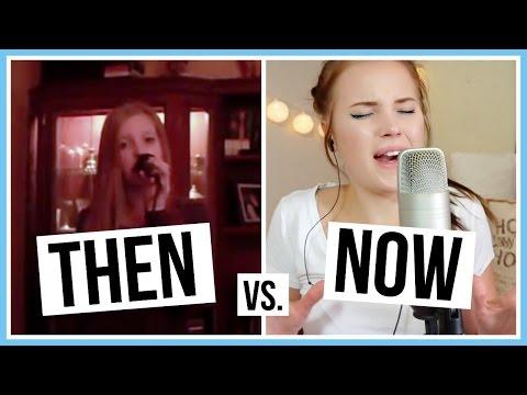 THEN VS. NOW! | Me singing 🎵 (DEL 2) 🌸