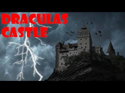 Exploring Draculas Castle At Night Found Disturbing Room Youtube