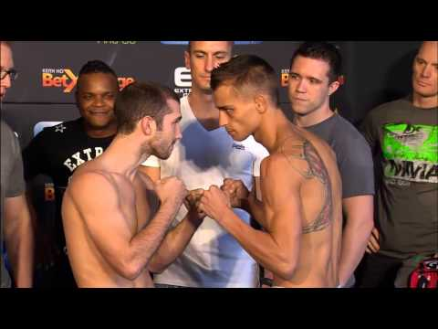EFC 38: Official Weigh-in
