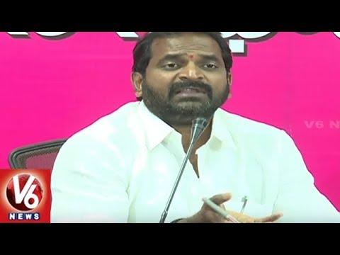 MLA Srinivas Goud Slams On Congress Over Accusing Telangana Govt | V6 News