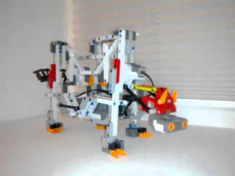 Стопоходящий жук Чебышева Lego Mindstorms