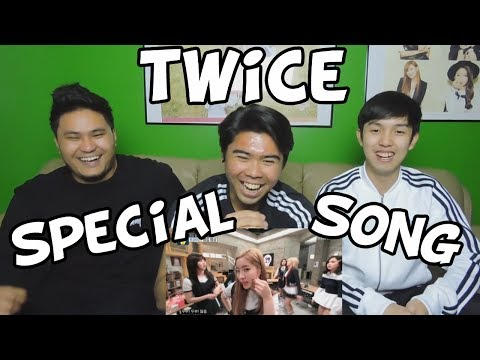 OPPA THINKING TWICE SPECIAL SONG REACTION (FUNNY FANBOYS)
