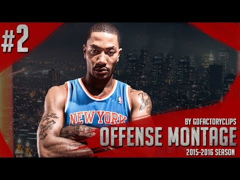 Derrick Rose Offense Highlights 2015/2016 (Part 2) - Welcome to NY Knicks!