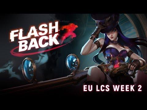 FLASHBACK // Clutch Caitlyn Pentakill (2018 EU LCS Spring Week 2)
