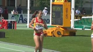 6th IAAF World Youth Championships, Sudtirol '09 - 5km Race Walk Girls Final