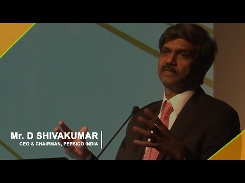 Mr. D Shivakumar, CEO & Chairman, PepsiCo India on Matrix at Workplace