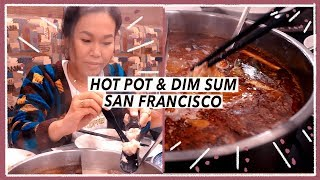 All-Day Asian Food Tour in San Francisco | Travel Vlog