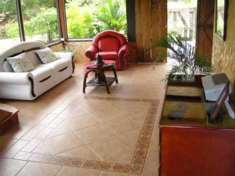 Casa rustica 2 plantas en las brisas perez zeledon youtube for Losetas para pisos interiores