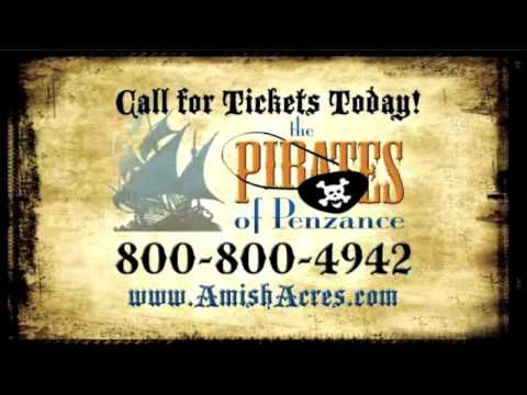 The Pirates of Penzance - Round Barn Theatre Sept 1-Oct 11, 2009