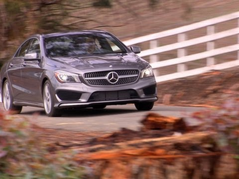 CNET On Cars - On the road: 2014 Mercedes CLA250