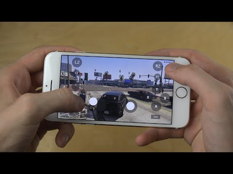 GTA 5 iPhone 7 NVIDIA GameStream Moonlight App Stream Gameplay Review!