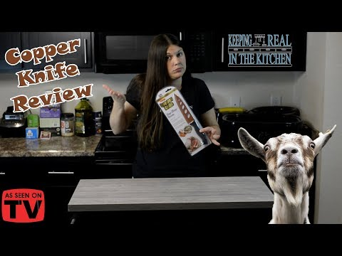 Review of the As Seen on TV Copper Knife! Episode 109