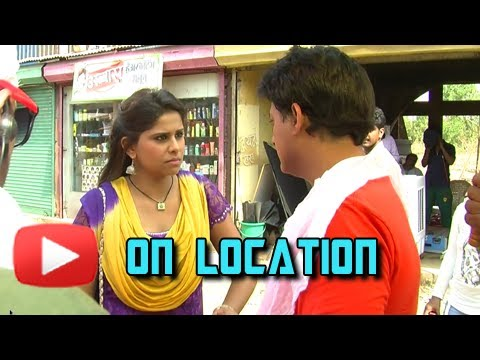 On The Set Of Pyar Vali Love Story - Latest Marathi Movie -...