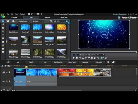 How to Edit Videos Productively   CyberLink PowerDirector 12 Tutorial