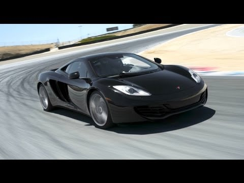 2012 McLaren MP4-12C Hot Lap! - 2012 Best Driver's Car Contender