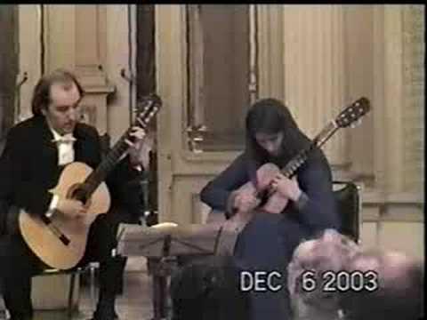 Duo Rioseco Moran - C. Debussy - Petit Suite - IV Ballet