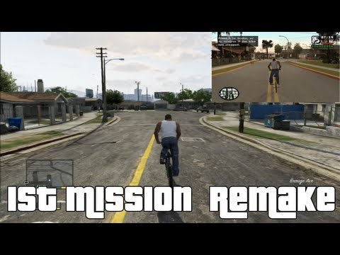 Grand Theft Auto 5 GTA San Andreas Remake
