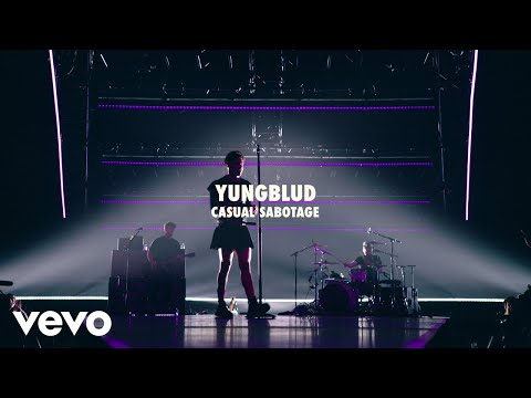 YUNGBLUD - Casual Sabotage (Live) | Vevo LIFT Live Sessions