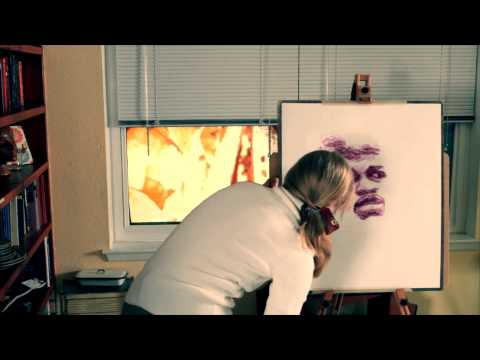 Natalie Irish - Painting With Her Lips - Influence