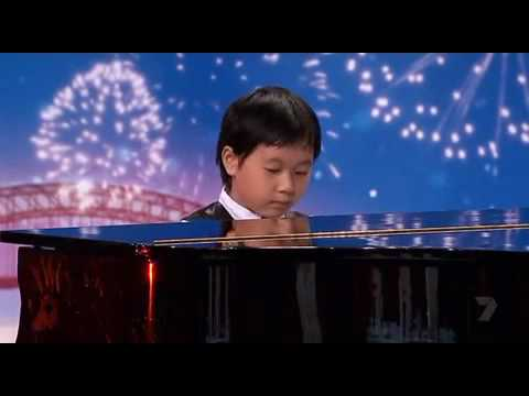 "Shuan Hern Lee ""Flight of the Bumblebee"" Child Piano Prodigy on Australia s Got Talent 2010"