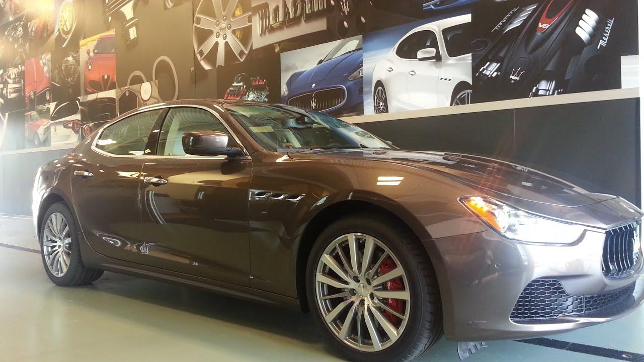 2014 All Wheel Drive Maserati Ghibli S Q4 Bronze Walk