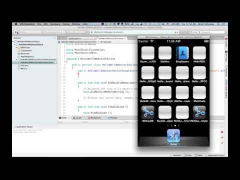 Creating iOS Apps with C# Using Xamarin.iOS
