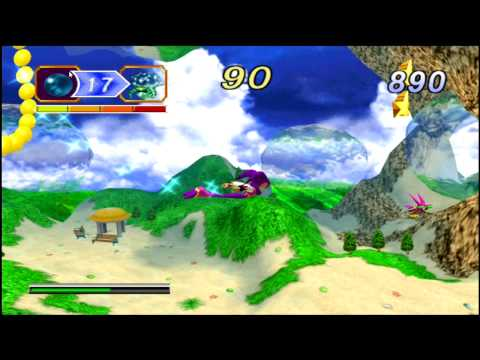NiGHTS into Dreams on PCSX2 PS2 Emulator 720p HD | Full Speed