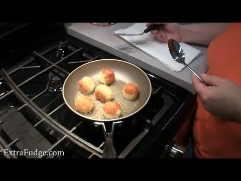 Mashed Potatoes Croquettes Cooking Demonstration And Recipe