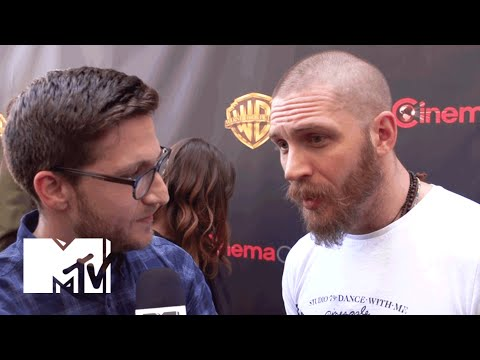 Tom Hardy Talks 'Mad Max: Fury Road' at CinemaCon 2015 | MTV News