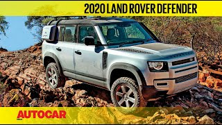 EXCLUSIVE: 2020 Land Rover Defender driven across Namibia | First Drive Review | Autocar India