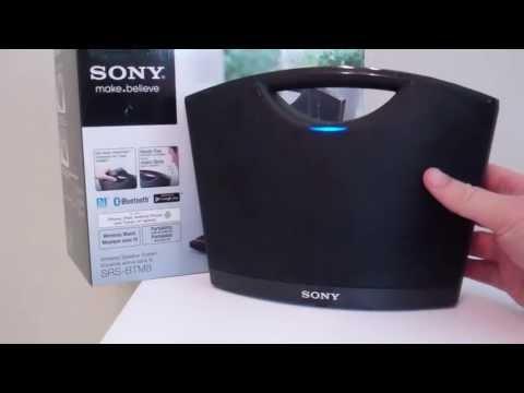 Sony Bluetooth Wireless Speaker System SRS-BTM8