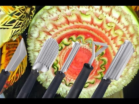 Vegetables Carving Tools ▶ Vegetable Carving Tools