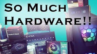 Prelude PC Hardware Reveal! EVGA! Thermaltake! TeamGroup!