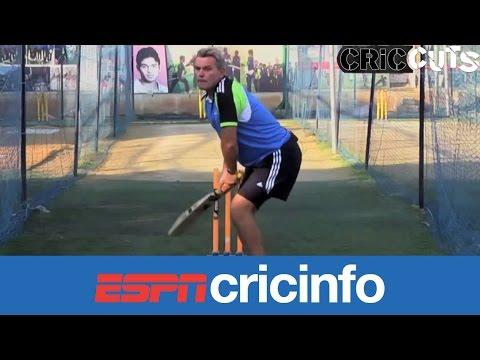 Demonstration of Viv Richards batting stance | Cric Cuts
