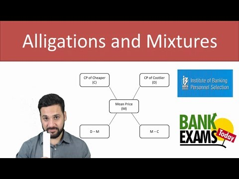 Alligations and Mixtures Shortcuts by Ramandeep Singh