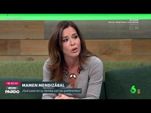 Mamen Mendizábal relata cómo su familia fue víctima de la estafa de las preferentes