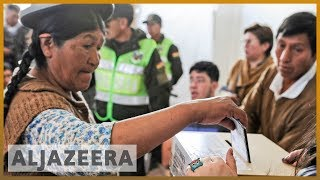 Morales leads Bolivia vote for controversial fourth term
