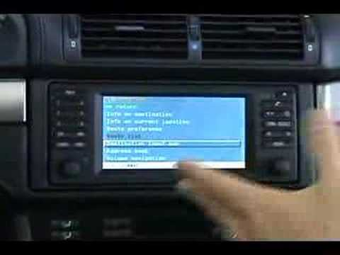 Bmw E39 With Widescreen Display And Mkii Navigation