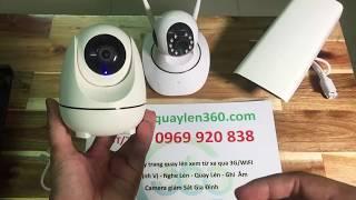 Camera WiFi Thông Minh Tự Quay Theo Chuyển Động Full HD 1080P | 0969.920.838