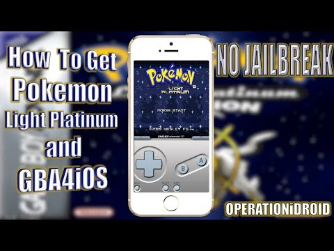 How To Get Pokemon Light Platinum on GBA4iOS (NO COMPUTER) (NO JAILBREAK)
