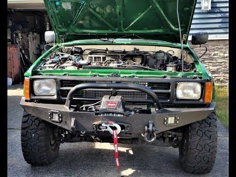 1987 Toyota Pickup Northwest Trail Innovation Bumper Build