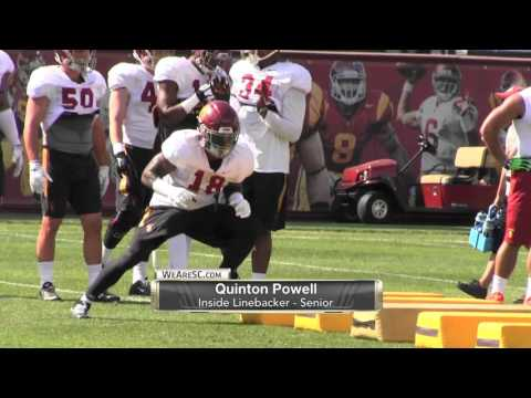 WeAreSC Video: Spring practice footage of the USC linebackers in action