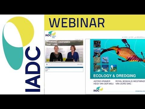 Dredging: Webinar - Ecology and Dredging (IADC)