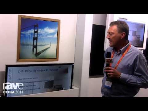 CEDIA 2014: Future Automation Talks About the LSM Advanced TV Lift