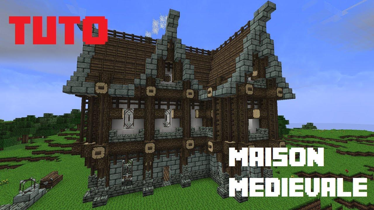 Tuto minecraft comment faire une maison m dievale youtube - Construire une cite medievale ...