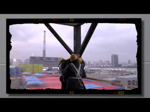 2010 Shanghai World Expo, construction timelapse of Broad Pavilion